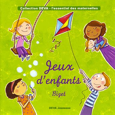 Andrée Joineau, Harry Cox - Bizet : Jeux d'enfants, 12 pièces pour piano à 4 mains, Op. 22