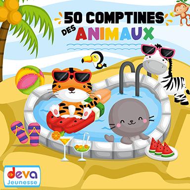 Artistes divers - 50 comptines des animaux