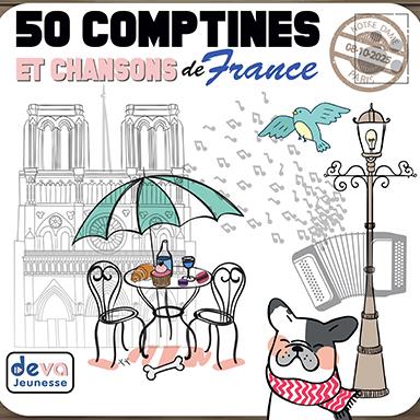 Artistes divers - 50 comptines et chansons de France