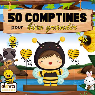Artistes divers - 50 comptines pour bien grandir