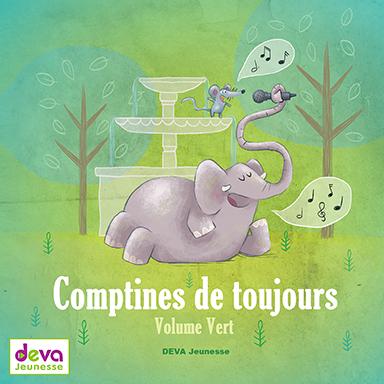 Les devanautes - Comptines de toujours (volume vert)
