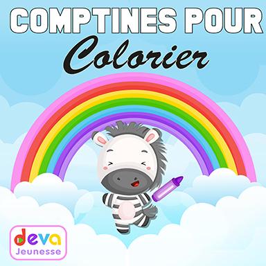 Artistes divers - Comptines pour colorier