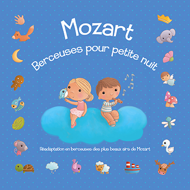 Le marchand de sable - Mozart : berceuses pour petite nuit