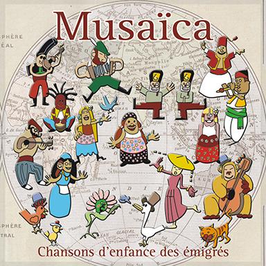 Richard Soudée - Musaïca : chansons d'enfance des émigrés