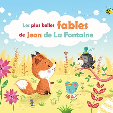 Frédéric Martin - Les plus belles fables de Jean de La Fontaine