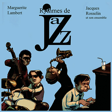 Marguerite Lambert, Jacques Rosselin, Ensemble instrumental Jacques Rosselin - Rythmes de Jazz