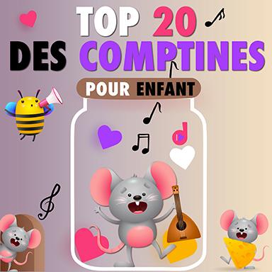 Artistes divers - Top 20 des comptines pour enfant
