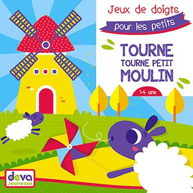 Jemy - Tourne tourne petit moulin : Jeux de doigts pour les petits