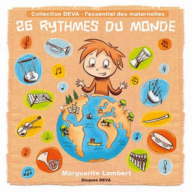 Marguerite Lambert - 26 rythmes du monde