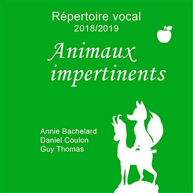 Annie Bachelard, Daniel Coulon, Guy Thomas - Animaux impertinents
