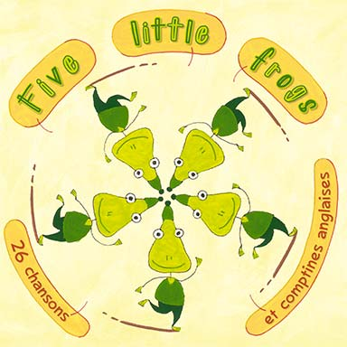 Artistes divers - Five little frogs