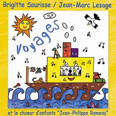 Brigitte Sourisse, Jean-Marc Lesage - Voyages