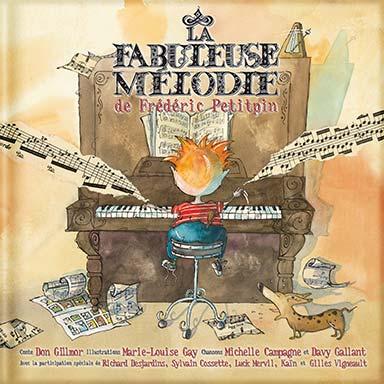Davy Gallant, Michelle Campagne - La fabuleuse mélodie de Frédéric Petitpin