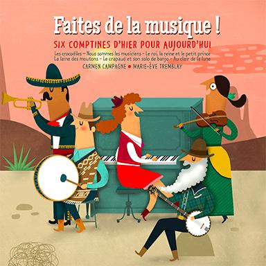 Carmen Campagne - Faites de la musique