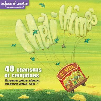 Méli mômes - 40 chansons et comptines (vol.2)