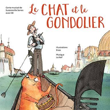 Suzanne De Serres - Le chat et le gondolier