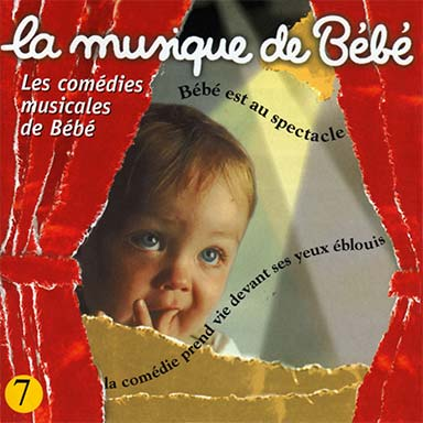 Martin Chabloz - Les comédies musicales de bébé