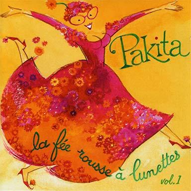 Pakita - La fée rousse à lunettes