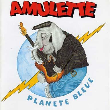 Amulette - Planète bleue